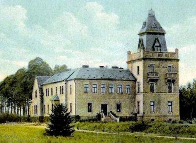 Larischova vila kresba